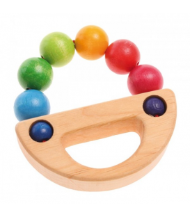Grasping toy rainbow boat