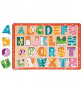 Encajable abecedario gatitos