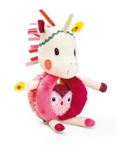 Louise unicornio sonajero asas