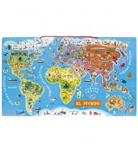 puzzle mundo magnetico