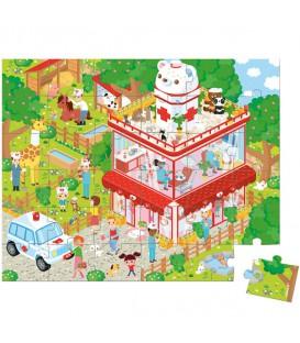 puzzle 36 piezas clínica veterinaria