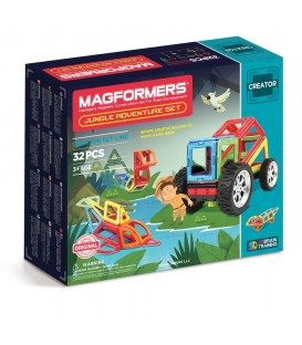 Magformers. Jungle adventure set
