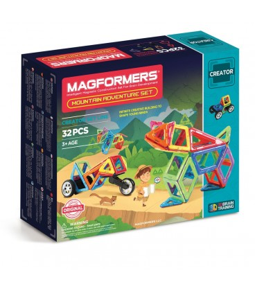 Magformers. Mountain adventure set